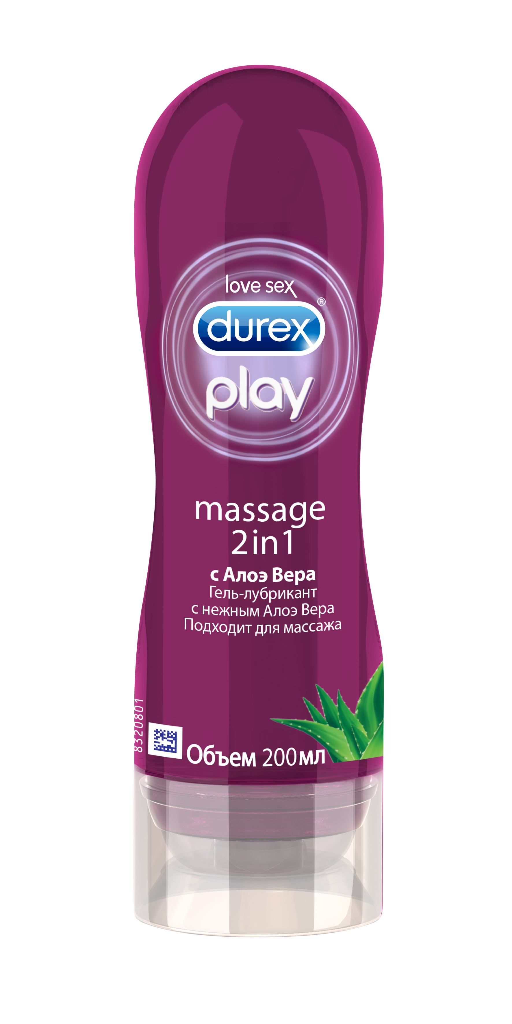 картинка DUREX Гель-лубрикант Play Massage 2 in 1 с Aлоэ Вера 200 мл