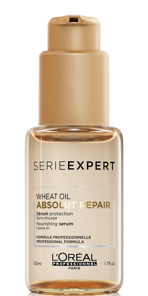 картинка L`Oreal Professionnel Serie Expert Absolut Repair Gold Quinoa + Protein Сыворотка, 50 мл