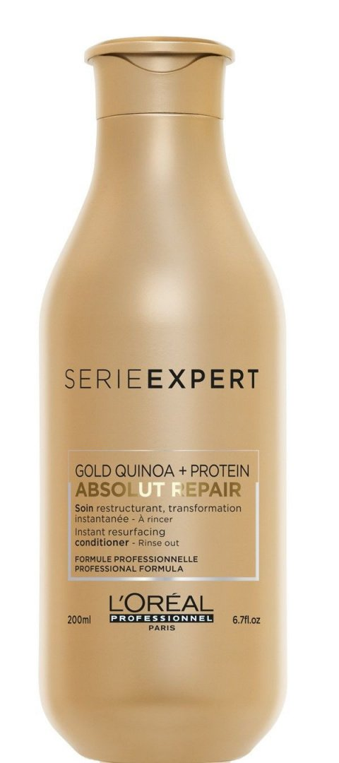 картинка L`Oreal Professionnel Serie Expert Absolut Repair Gold Quinoa + Protein Кондиционер, 200 мл
