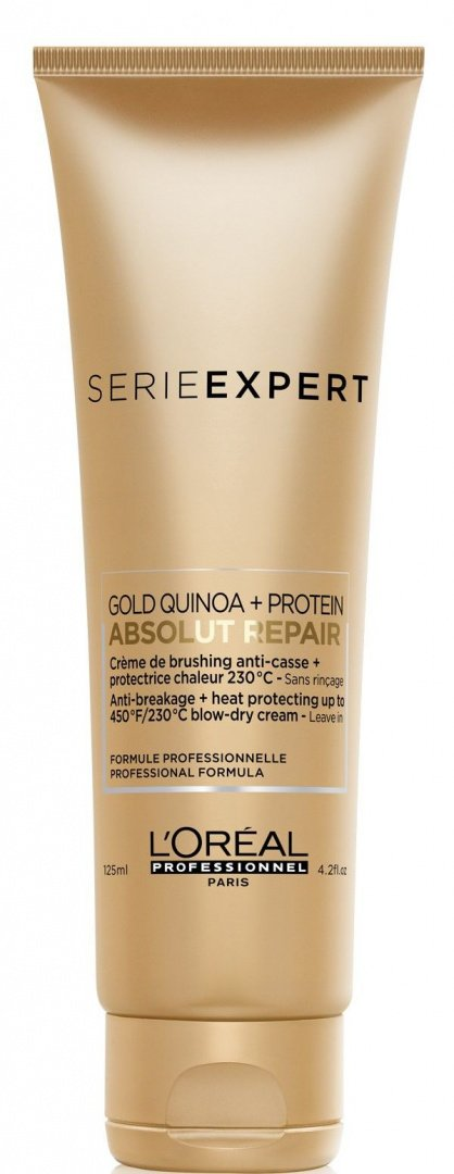 картинка L`Oreal Professionnel Serie Expert Absolut Repair Gold Quinoa + Protein Крем, 125 мл